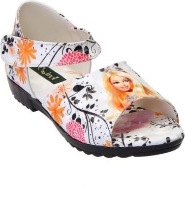 CatBird Girls Orange Sports Sandals