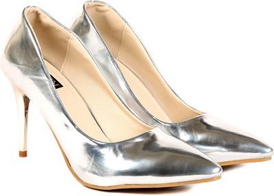 TEN Women White Heels