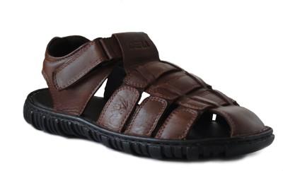 DERA Men Tan Sandals