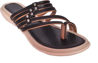 WOMENS CLUB Girls Black Sandals