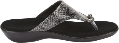 Awssm Women Black, Grey Flats
