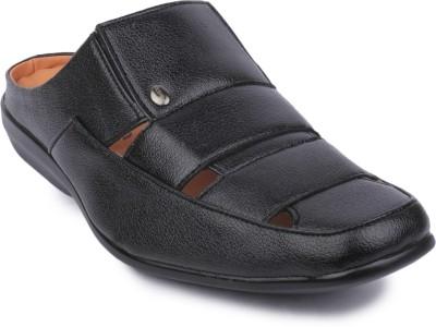 Action Shoes Men Black Sandals