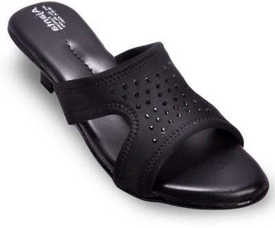 Ajanta Ajanta Black comfort sandal Women Black Heels