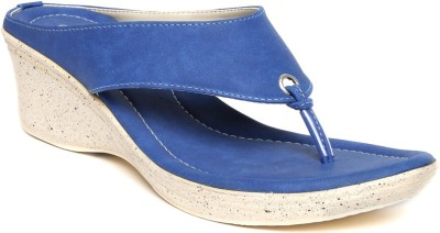 Dressberry Women Blue Wedges