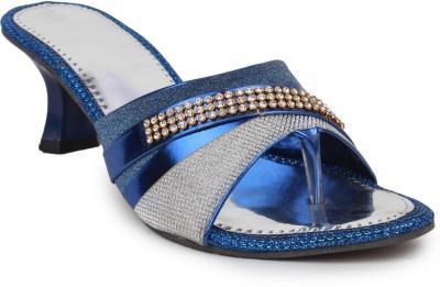 Beonza Women Blue Heels
