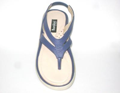 Bambini Girls Blue Flats