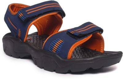 M&H Men Blue, Orange Sandals