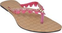 Forever Footwear Women Pink Flats