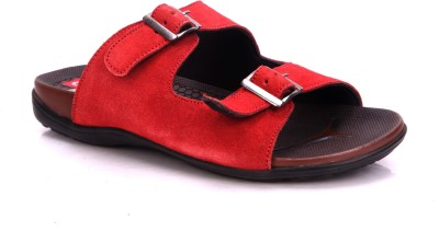 Nawaabs Men Red Sandals