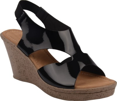 Chicopee Women Black Wedges