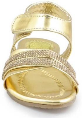 Yoyo Girls Gold Sandals