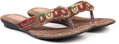 Ka Fashion Women Camel Flats