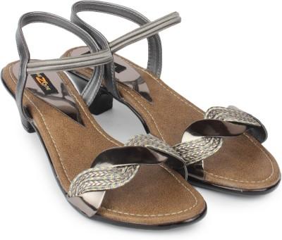 Shezone Women Grey Heels