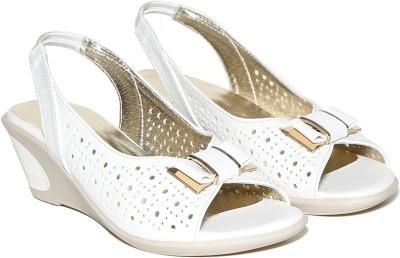 Craze Shop Girls White Sandals