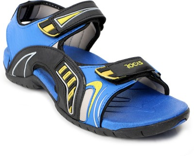 Welcome Men Black, Blue Sandals