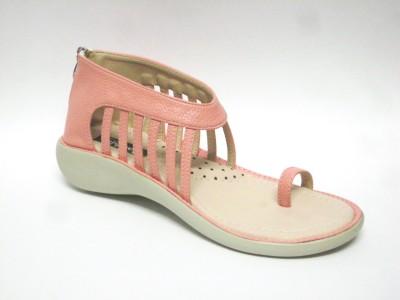 Bambini Women Pink Flats