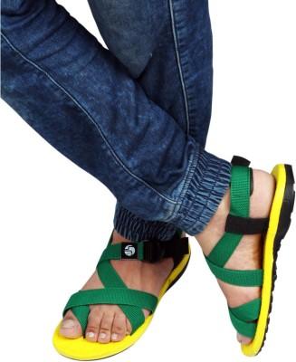 BIG JUNIOR Men Yellow Sandals