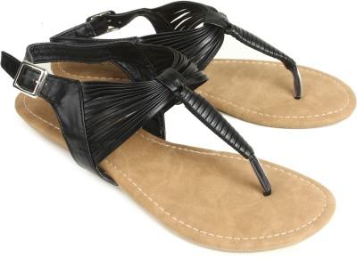 Starchi Women Black Flats