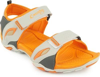 GOWELL Men Orange Sandals
