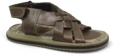 PHEDARUS Boys Tan Sandals