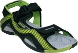 Campus Men Black Sandals