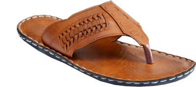 Mr. Polo Men Tan Sandals
