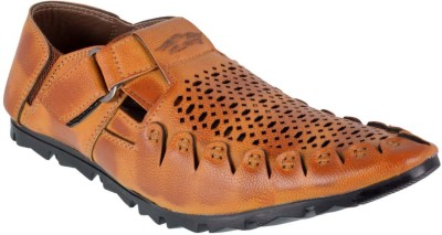 Bluemountain Men Tan Sandals