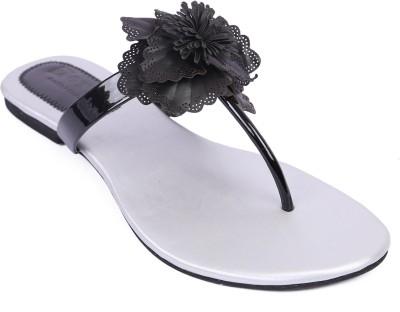 Zotti Women Silver Flats