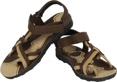 Vivaan Footwear Brown-215 Men Brown Sandals