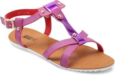 Yepme Women Purple Flats