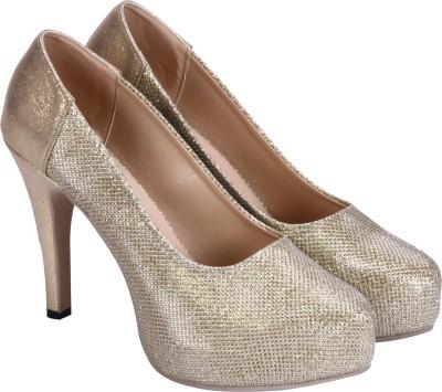 Soft & Sleek Girls Gold Sandals