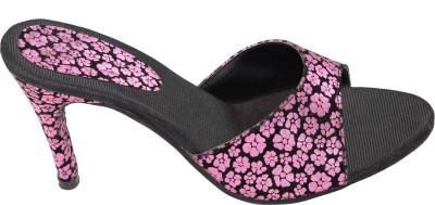 Vandy Crafts Women Black Heels