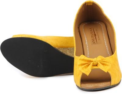 Anupamaa Yellow Short Girls, Women Yellow Wedges