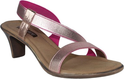 Raw Hide Women Pink Heels