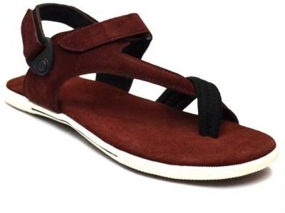 Zoot24 Men Maroon Sandals