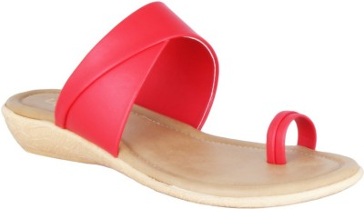 Legsway Women Red Flats