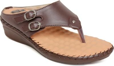 Vendoz Women Brown Flats