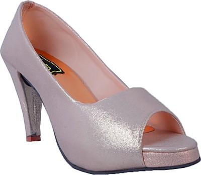 RELEXOP Women Silver Heels