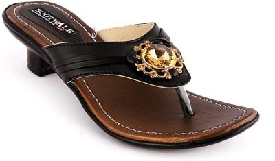 Bootwale Women Black Heels