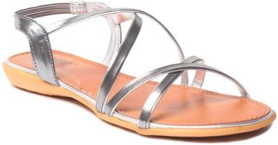 MSC Women Grey Flats