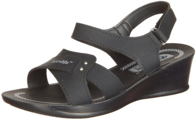 Aerowalk Women Black Flats