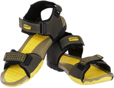 Per Te Solo Space Men Olive, Yellow Sandals