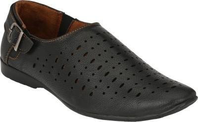 IMCOLUS Men Black Sandals