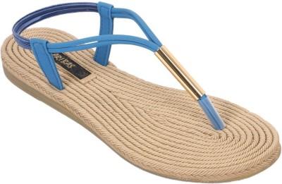 ARIBAS Women Blue Flats