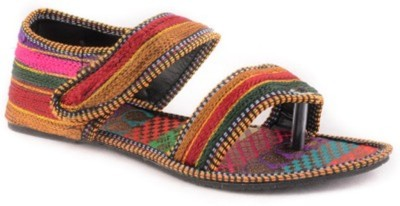 STEP INDIA Girls Multicolor Flats