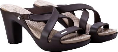 Crocs Women Brown Heels
