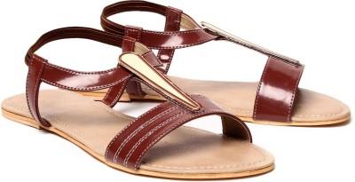 Nell Women Tan Flats