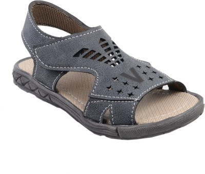 SNAPPY Boys Black Sandals
