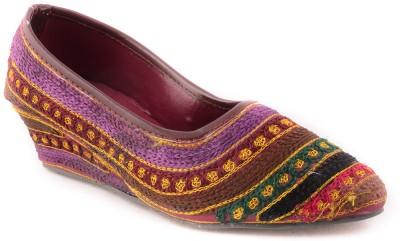 Forever Footwear Women Multicolor Wedges