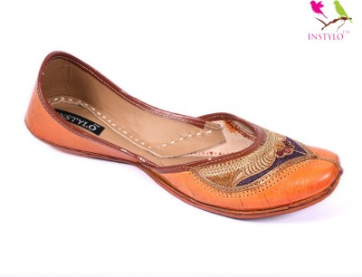Instylo Girls Brown Flats